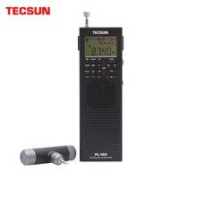 Tecsun PL 360 de banda completa FM/MW/LW/SW demodulación digital para ancianos, radio portátil de bolsillo, semiconductor, carga, Campus
