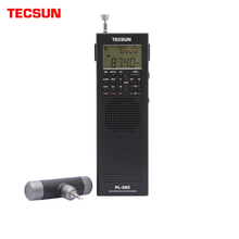 Tecsun PL 360 full band FM/MW/LW/SW digital demodulazione anziani tasca stereo palmare a semiconduttore di ricarica radio Campus