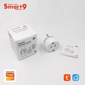 "Image 5 - Smart9 מיני Wifi חכם תקע, 16A עם מדידת כוח Max. 3680 W, FR האיחוד האירופי ארה""ב סוג חכם חיים APP שלט, מופעל על ידי TuYa"
