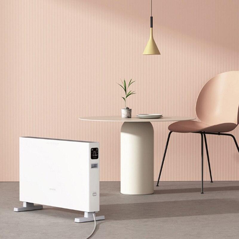 Умный электрический обогреватель Smartmi DNQZNB05ZM, быстрый удобный обогреватель, конвекционный нагрев, умное приложение, дистанционное управлен...