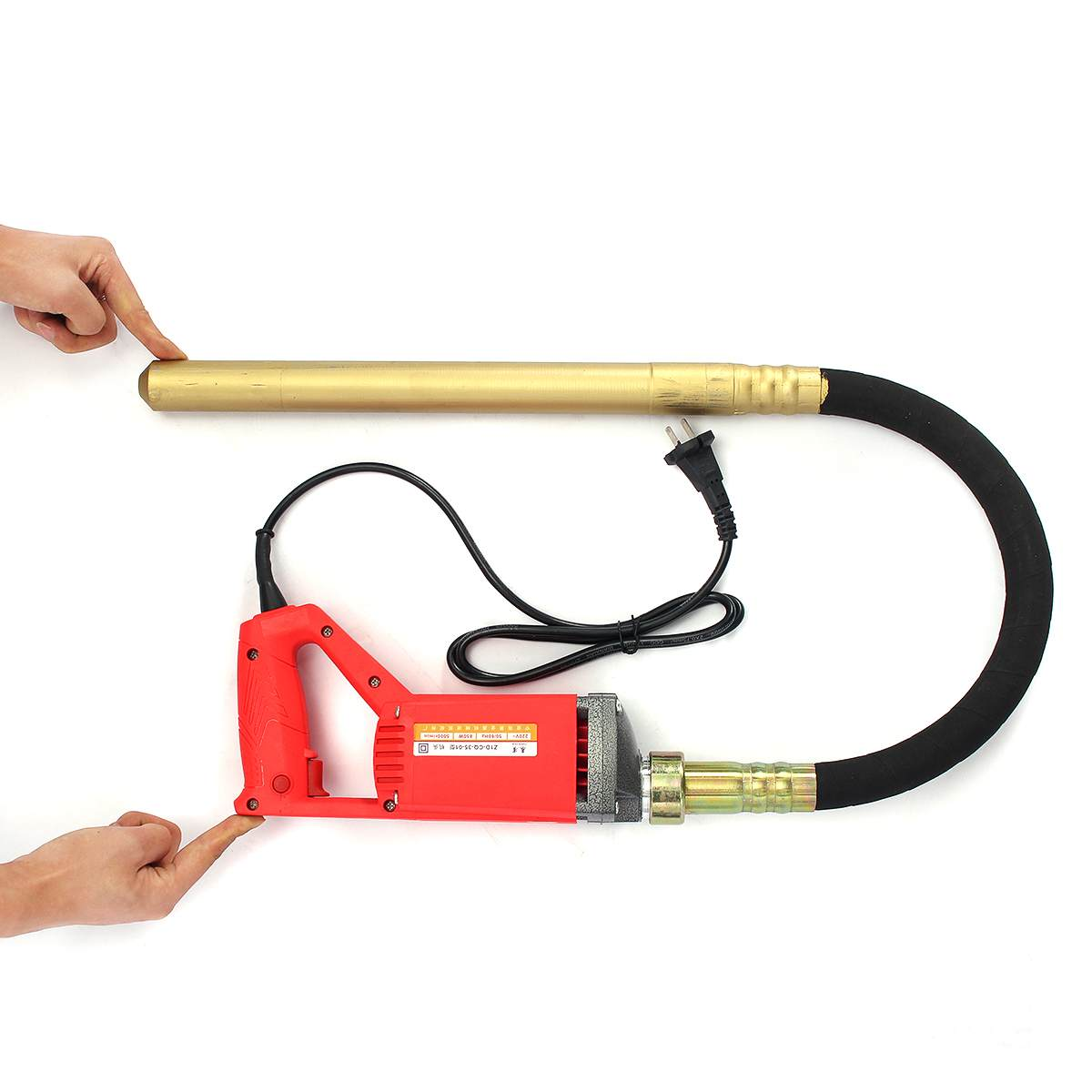 Electrical Concrete Vibrator 1560W/1200W/800W 220V With Motor Construction Tools