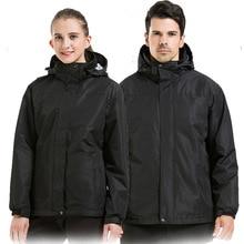 Coat Equipment Ski Clothes Suit Race Waterproof Ski Jacket Men Snowboard Snow Suit Clothes Ski De Fond Protective Gear BJ50HX