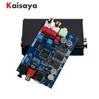 Decodificador de salida Coaxial óptico DAC G5-007 HIFI Audio CM6631A interfaz Digital 32/24Bit 192K USB a I2S IIS SPDIF