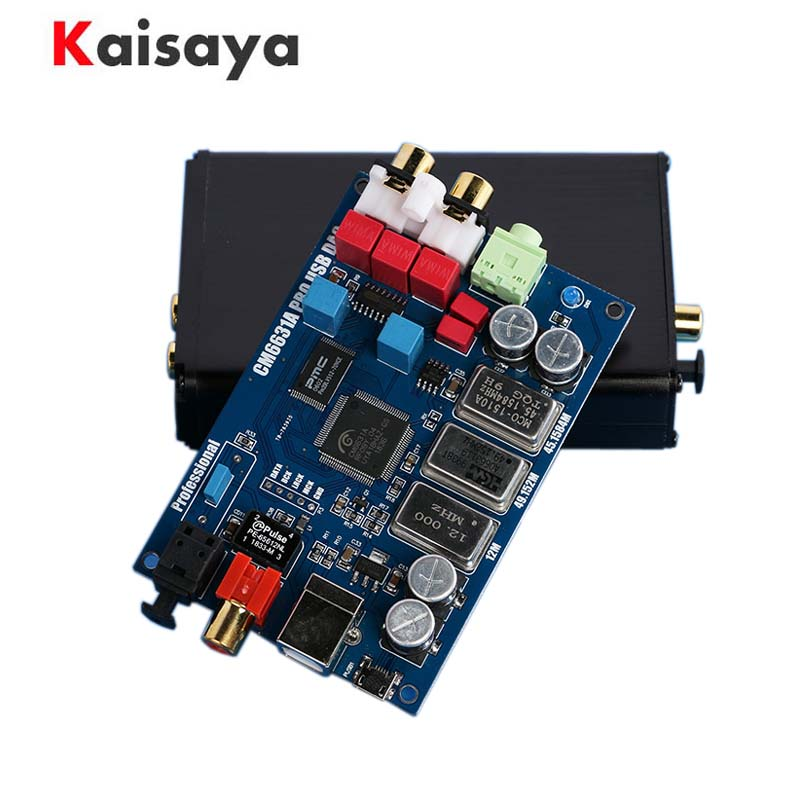 Latest HIFI Audio CM6631A Digital interface 32 / 24Bit 192K USB to I2S IIS  SPDIF Optical Coaxial Output Decoder DAC G5 007|Digital-to-Analog Converter| |  - title=
