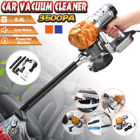 3500pa Strong Power car vacuum cleaner DC 12V 100W Portable Handheld Cyclonic Wet/Dry Auto Portable Vacuums Cleaner