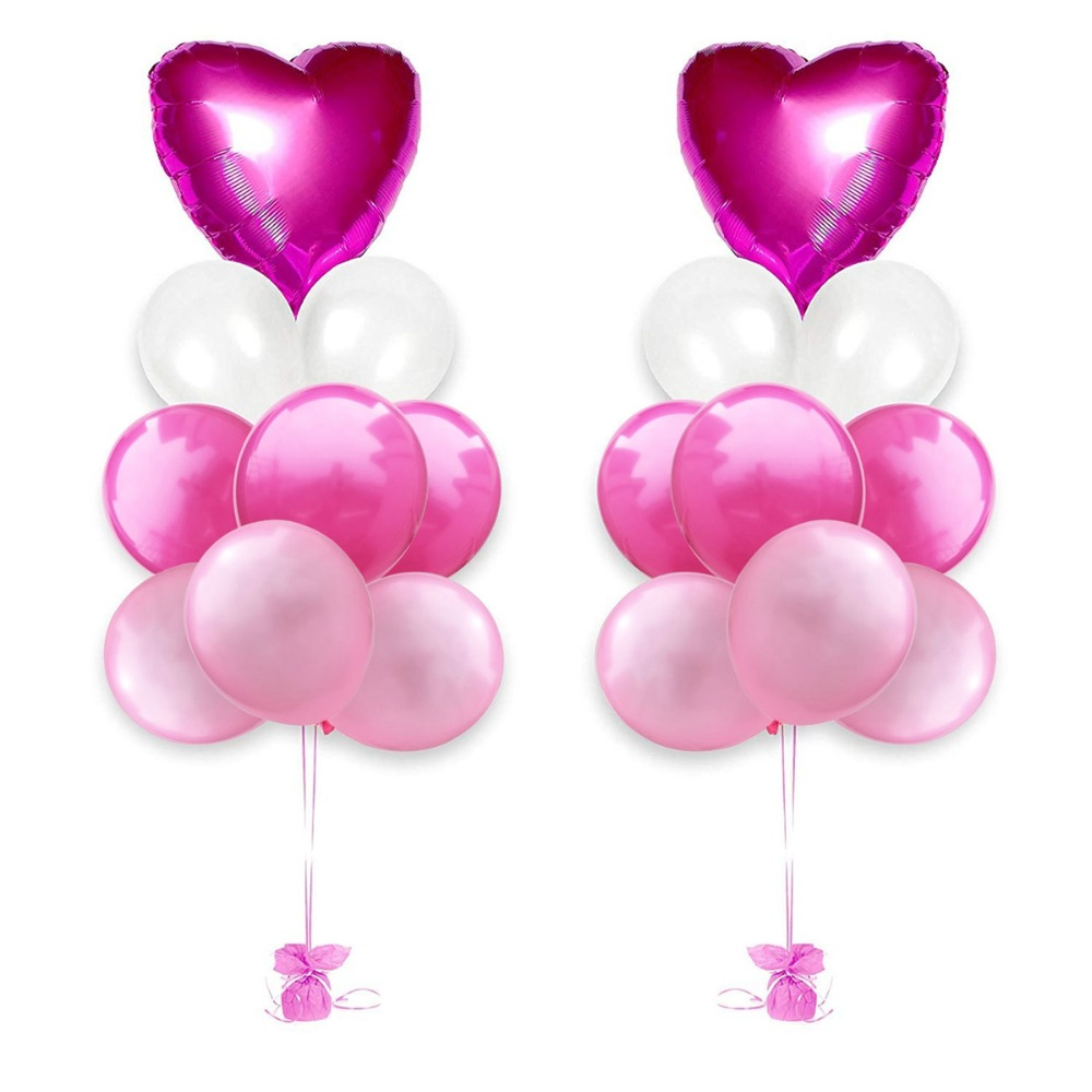 Rose Gold Love Balloon Birthday Party Decorations Wedding Event Party Birthday Balloons Heart Shaped Love Balloon Decorations in Ballons Accessories from Home Garden