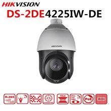 Оригинальная Hikvision PTZ IP камера DS-2DE4225IW-DE 2 мегапикселя моторизованный 25X зум скорость купольная камера видеонаблюдения IR 100 м объектив 4,8-120 мм