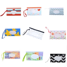 Dispenser Diaper-Wipes Baby Handy Pouches Carrying-Case Eco-Friendly Wet Travel Reusable