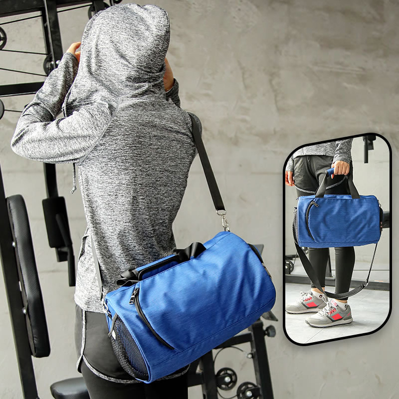 Men's Sport Fitness Bags Large Capacity Dry And Wet Separation Crossbody Bag For Women Training Swimming Hand Luggage Travel Bag