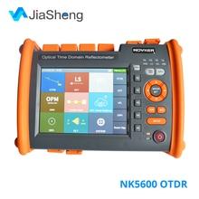 Testeur optique dotdr de Fiber optique de NOVKER NK5600 1310/1550nm 32/30dB SM avec la fonction de Source lumineuse dopm de VFL