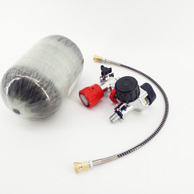 AC520211  Mini Paintball Air Gun Airforce Condor 2L Carbon Tank Pcp 300Bar Compressed Cylinder/Bottle With Valve