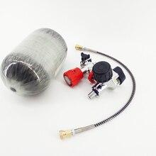 AC520211  Mini Paintball Air Gun  Airforce Condor 2L  Carbon Tank Pcp Air Tank 300Bar Compressed Air Cylinder/Bottle With Valve