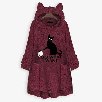 OVERSIZE HOODIE WITH CAT EARS 3