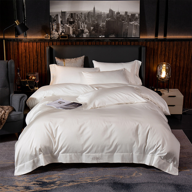 Egyptian Cotton Bedding Set Soft and Silky 6