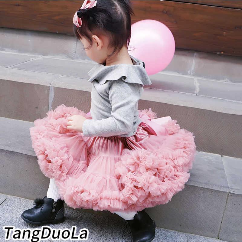 ファッション赤ちゃんチュチュスカート王女ペチコート · バレエ · ダンスチュチュスカートキッズパ衣装 0-8 Ys Chlidren