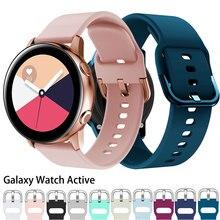 Correa para Samsung Galaxy Watch Active 2, banda deportiva de 40/44mm, correa de reloj de 20mm, correa de reloj samsung active2 3 42mm