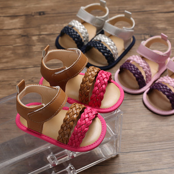 Emmababy 2020 Girl Sandals Summer New Casual Toddler Baby Kids Beach Shoes