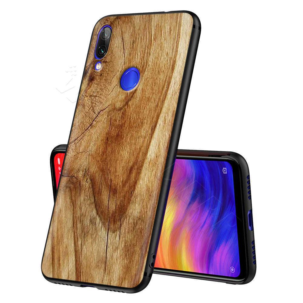 Patrón de madera texturas para Xiaomi rojo mi nota 8 mi 3 6 8 9 A1 A2 A3 8A 6X9 T CC9 Lite SE Pro Max F1 10