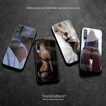 Exotic Sexy Bikini girl Soft Silicone Glass cover Shell Phone Case for