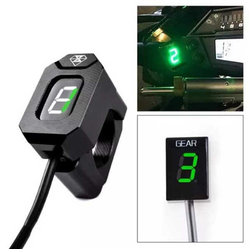 Racing Motorfiets Led Ecu Plug Mount Speed Gear Display Indicator Voor Kawasaki Z800 Z300 ER6N ER6F Ninja300 Ninja650