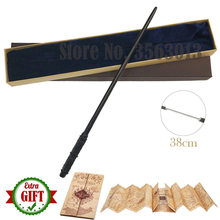 Newest Quality Sturdy Deluxe Metal Core COS Movie Severus Snape Magic Wands/Stick with Gift Box Packing