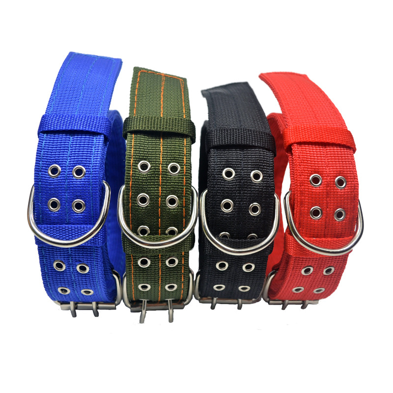 Hot Sales Hot Selling Four Layer Thick Nylon Dog Neck Ring Soft Double Breasted Bite-proof Protector Pet Supplies