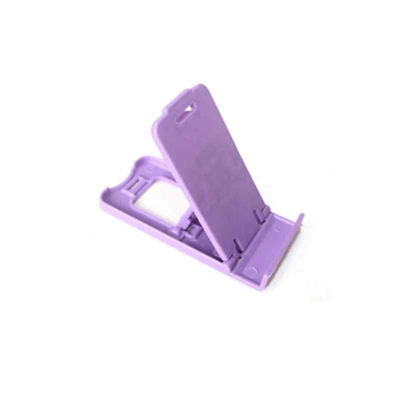 Telefoon Houder Lui Mobiele Telefoon Stand Met Licht Plastic Compact Multi-Hoek Vouwen Telefoon Zetel Accessoires Voor Mobiele Telefoon