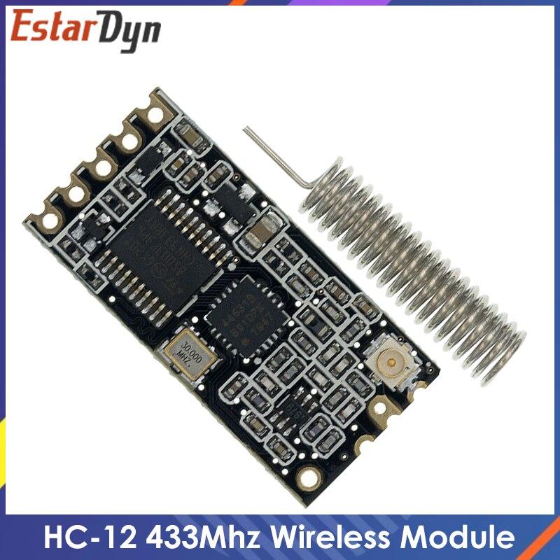 HC-12 boa qualidade 433mhz HC-12 si4463 módulo de porta serial sem fio 1000m substituir bluetooth novo