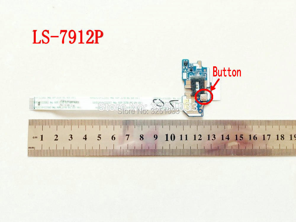 Q5WV1 Q5WS1 LS-7912P For Acer Aspire E1-531 E1-571 V3-551 V3-571G NV56R NE56R TE11 TV11-HC Switch Power Button Board With Cable