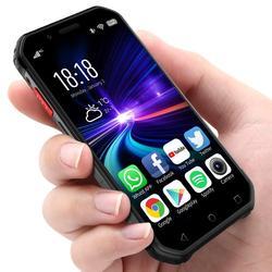 SOYES S10 Mini Waterproof Smartphone NFC 3GB 32GB 1900mAh 4G Android 6.0 MTK6737 GPS Fingerprint Face ID 5MP Shockproof Phone