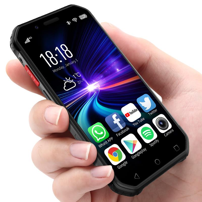 SOYES S10 Mini Waterproof Smartphone NFC 3GB 32GB 1900mAh 4G Android 6.0 MTK6737 GPS Fingerprint Face ID 5MP Shockproof Phone