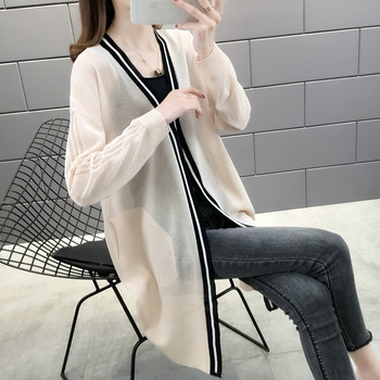 Room 157082, no. 2 in 1 】 to film a new collar color matching bask long unlined upper garment of 42 6