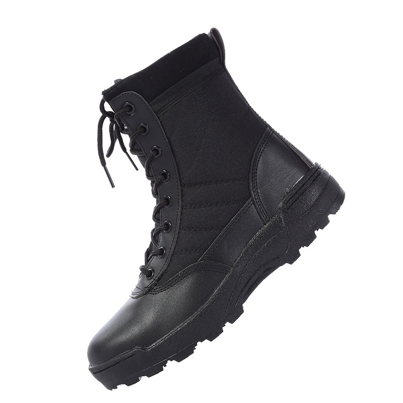 2021 New Us Military Leather Boots for Men Combat Bot Infantry Tactical Boots Askeri Bot Army Bots Army Shoes Erkek Ayakkabi