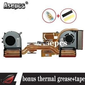 Новый оригинальный процессор gpu охлаждающий вентилятор кулер для For Asus FX705 FX705G FX705GM FX86SM охлаждающий вентилятор Радиатор
