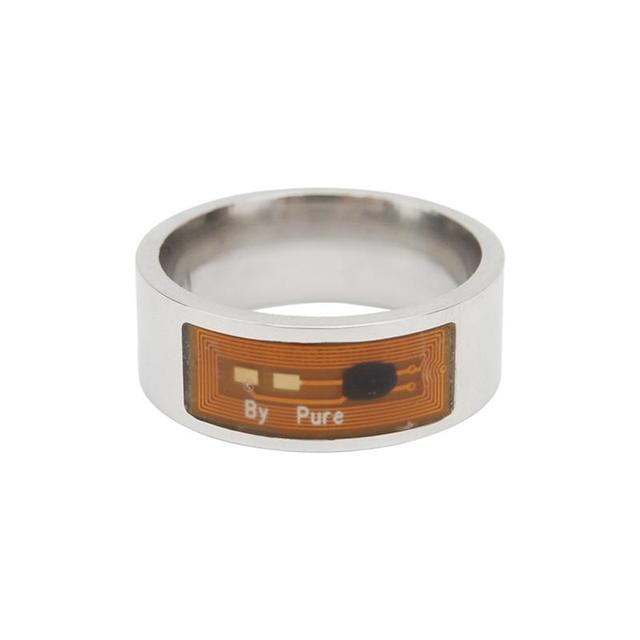 8mm NFC Tag Smart Magic Ring Wearable Smart Rings Finger Digital Ring for Android Phone with Functions 2