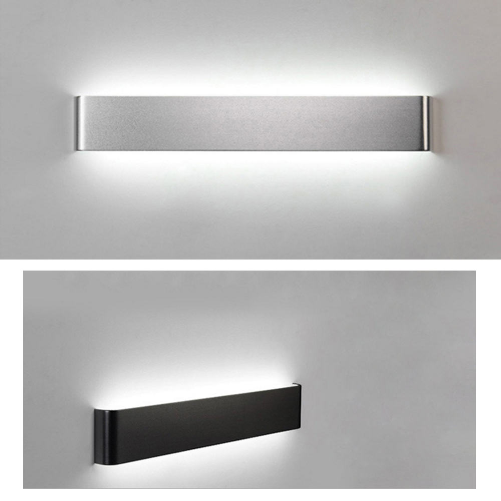 Rectangle Wall Light LED Indoor Lighting AC85~260V Wall Lamp 6W 12W 18W 24W Bedroom Bathroom Mirror Light for Aisle Bedside Bar