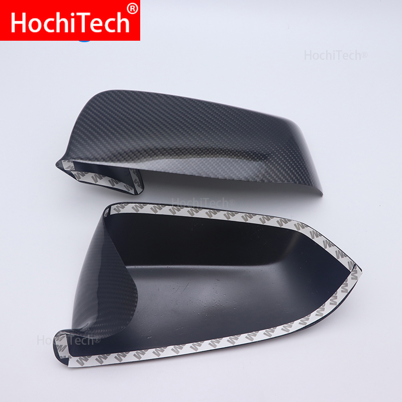 For BMW 7 Series F02 2009 2010 2011 High quality Carbon fiber side mirror housing mirror cover Rearview mirror Accessories Mirror & Covers    - title=