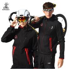 Mountainpeak Women Men Cycling Jacket Set Winter Thermal Fleece Clothing Sport Bike Warm Jersey Ciclismo Maillot