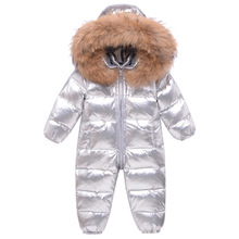 Overalls Snowsuit Coat Jacket Baby Winter Down for Kids Girl Wear Lazychild Infant Boy
