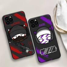 Game rainbow six siege Printing Drawing Phone Case For iphone 5s 6 7 8 11 12 plus xsmax xr pro mini se Cover Fundas Coque
