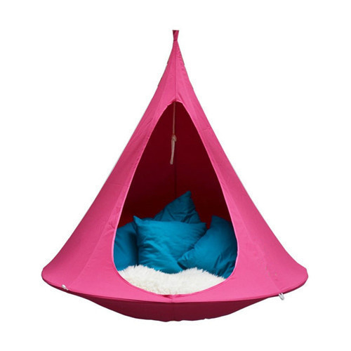 Outdoor camping waterproof leisure hanging sofa tent for many people Butterfly swing hammock hanging chair patio furniture 5