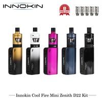 E Cigarettes Innokin CoolFire Mini Zenith D22 40W Starter Kit VV/VW Vape Vaporizer Kit 1300mAh 3ml Capacity With Plexus Z Coil