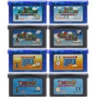 32 بت لعبة فيديو خرطوشة بطاقة وحدة التحكم لنينتندو GBA سوبر Mariold مقدما سلسلة اللغة الإنجليزية الطبعة