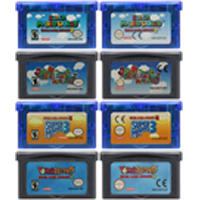 Cartucho de console de videogame de 32 bits, cartucho para nintendo gba super mariold advance series, edição em língua inglesa