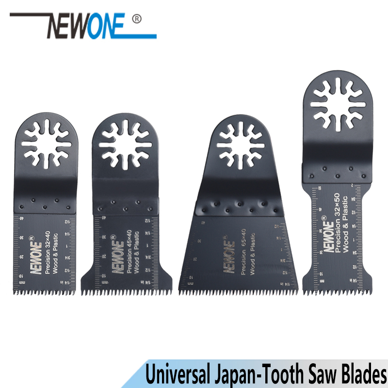 NEWONE 32/45/65mm Japan-tooth Precision Oscillating Tool Saw Blades Multimaster Power Tool Accessories For Wood Cutting
