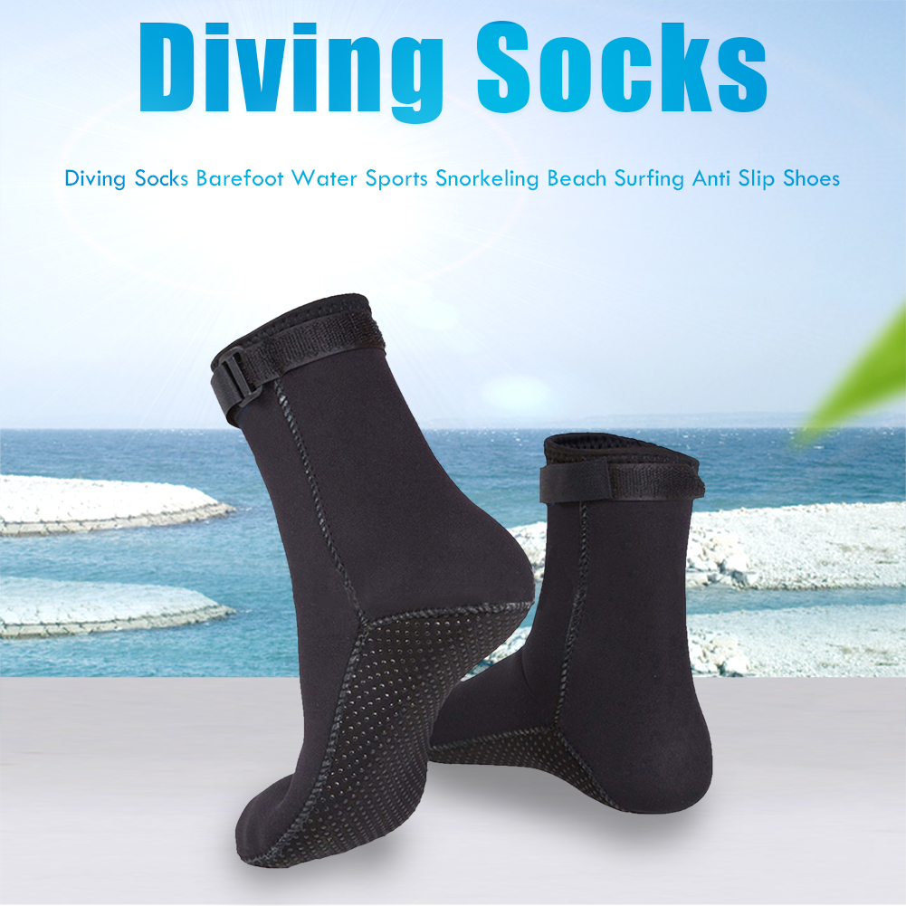 Diving Socks Beach Non-slip Beach Boots Water Sports Shoes Snorkeling Surfing Anti Slip Yoga Shoes Neoprene For Adults