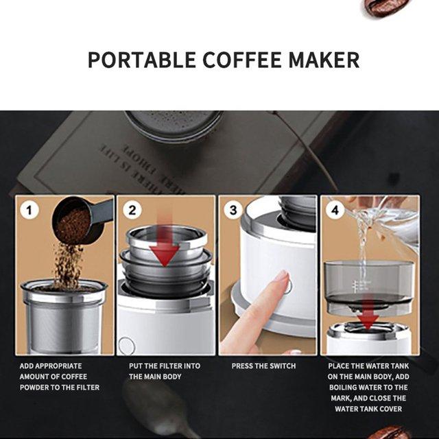 Push Button Coffee Maker 3