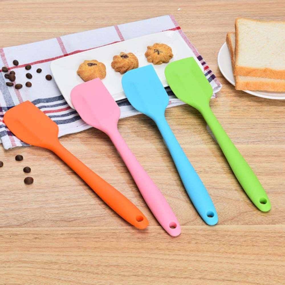 1pc silicone scraper cake baking Tool food grade Non Stick butter cooking silicone spatula rubber shovel bakery tools
