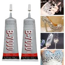 Cola para strass cristal adesivo jóias 9ml 15ml 25ml agulhas resina cola epoxy diy jóias artesanato suprimentos de vidro