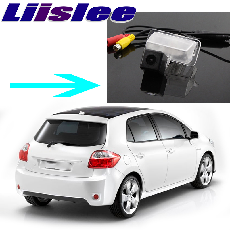 Liislee Car Camera For Toyota Auris E150 2006~2012 High Quality Rear View Back Up Camera For PAL / NTSC to Car Tuning CCD + RCA image